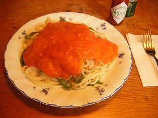 大好きなスパゲッティ