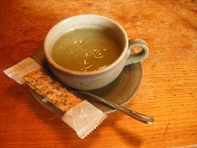 くず湯・抹茶