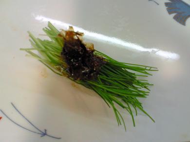 芽葱の握り