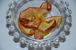 リンゴの燻製
