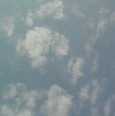 かわいい雲