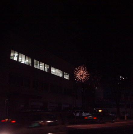 遠くの花火②