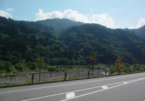 道の駅・小谷(おたり)より