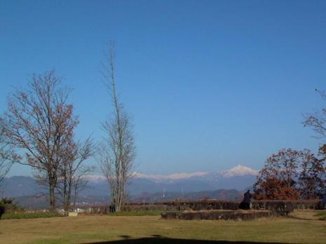 飛騨高山美術館の中庭より