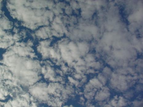 流氷チックな雲
