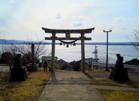 先崎神社の鳥居