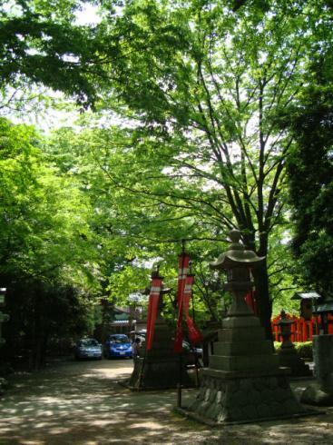 春日神社・お祭りの旗
