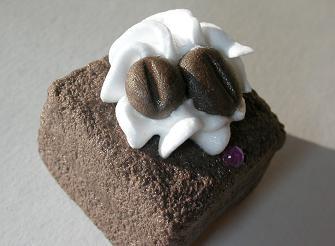 飾り土台チョコケーキ違う角度30