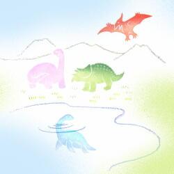 恐竜色見本