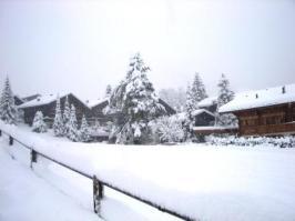 10月30日の大雪