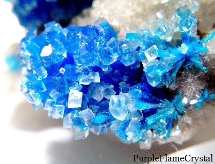 Cavansite in Calcite