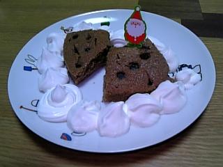 リース型チョコチップケーキ3