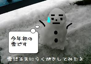 雪だるま2007.1.7_1
