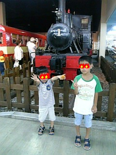 機関車展示