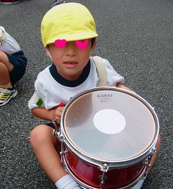 運動会鼓笛.2007.10