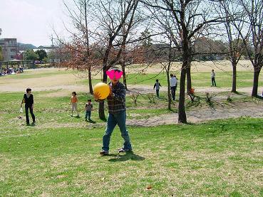 春の公園ピクニック6