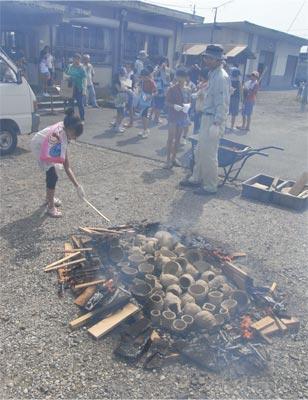 長浜土器焼き3