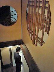 工房2階から