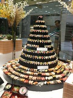 寿司タワー