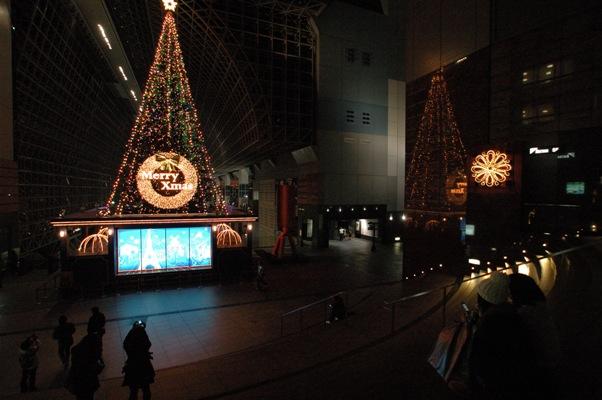 京都駅ツリー3
