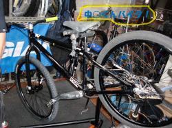 中村君の自転車