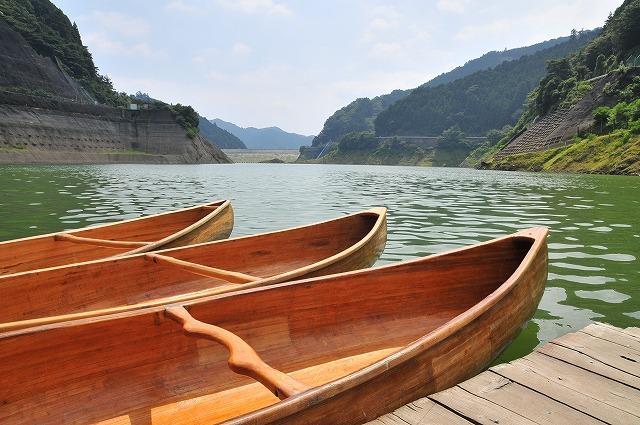 2009.8.29(名栗湖カヌー体験) 014