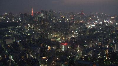 4月11日の東京夜景