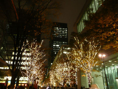 東京フォーラム前・藤井フミヤLIVE中