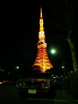 マツダルーチェと東京タワー