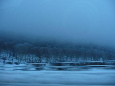 綺麗な雪山