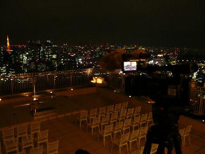HVR-Z5Jと、東京の夜景