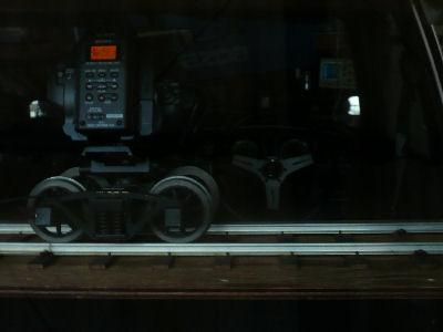 Z5J,ルーチェ室内にレールを仮設して