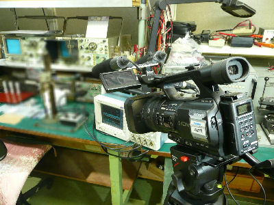 HVR-Z5Jで魅せる化、工程管理用の映像を撮る