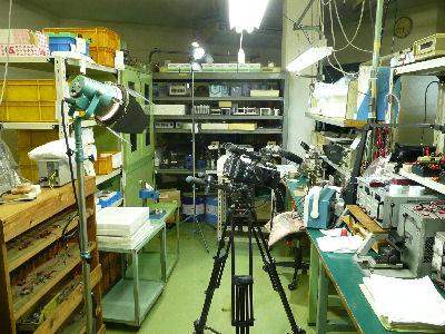 HVR-Z5Jである製品の製造過程を撮る