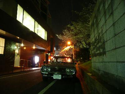 ルーチェと市ヶ谷の桜