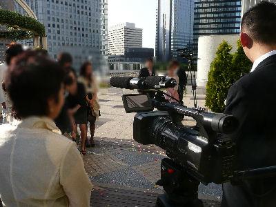 HVR-Z5J,結婚式を撮る