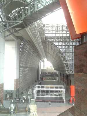 なんだかすごい、京都の駅ビル