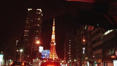 Z5Jで撮った、東京タワー