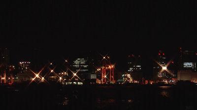 綺麗な品川埠頭