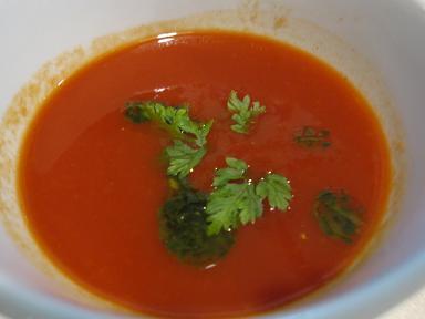 トマトスープ♪