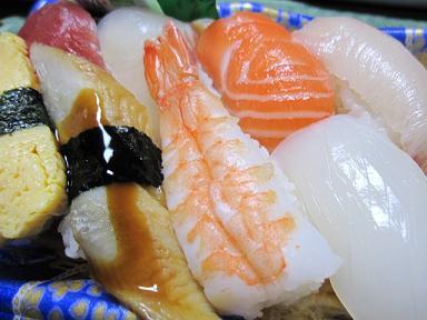 お寿司わいわいわい♪