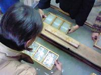 081204内山紙紙漉き体験2