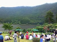090830北竜湖湖上コンサート①