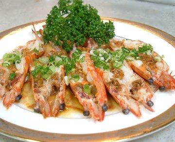 蒜茸蒸大明蝦