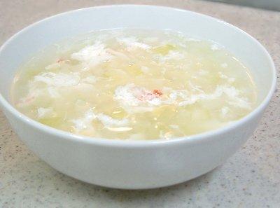 蟹肉冬瓜湯