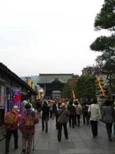 善光寺の門