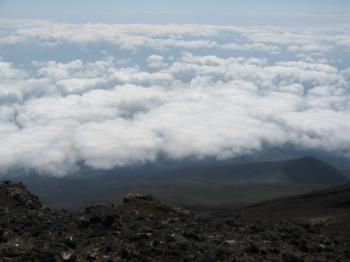 山頂からの雲模様3