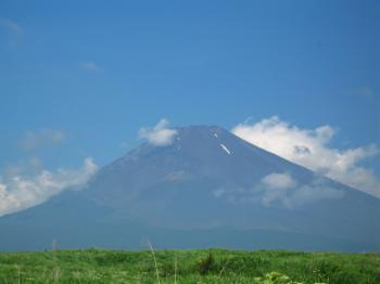 夏の富士山1