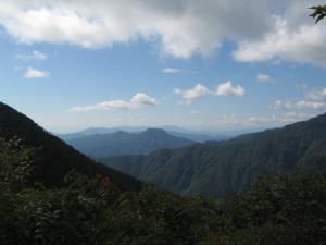 谷川岳付近の山々1