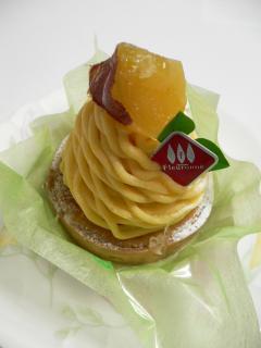 種子島産安納芋のモンブラン